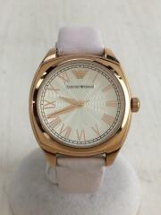 クォーツ腕時計/アナログ/GLD/PNK/AR-1951
