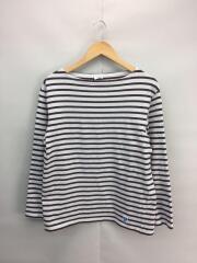 オーシバル/オーチバル/長袖Tシャツ/コットン/ボーダー/ブラウン