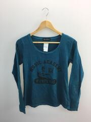 ヒステリックグラマー/長袖Tシャツ/ロンT/FREE/コットン/ブルー/0151CL01