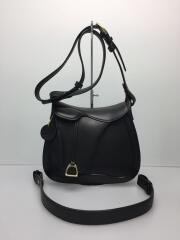 Leather Craft by Emi/サドルショルダー/ITAGAKI/ショルダーバッグ/レザー/BLK