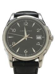 ハミルトン/ジャズマスター/クォーツ腕時計/アナログ/ブラック/H324110