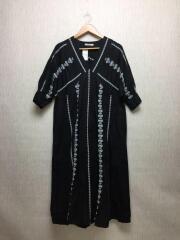 ジャーナルスタンダードレリューム/半袖ワンピース/FREE/コットン/ブラック