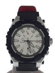 ティンバーランド/クォーツ腕時計/アナログ/レザー/ホワイト/ブラック/13331J