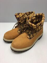 ティンバーランド/キッズ靴/23.5cm/ロールトップ/ブーツ/キャメル/1893R