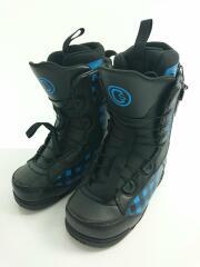 celsius◆スノーボードブーツ/23.5cm/クイックレーシング/ブラックxブルー