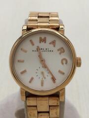 クォーツ腕時計/アナログ/--/ホワイト/ゴールド/MBM3248