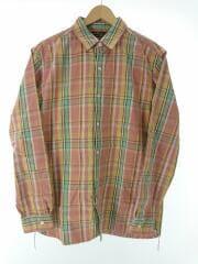 ヘビーチェックワークシャツ/3/コットン/ピンク/チェック/UF84-13B008