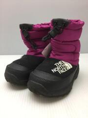 ヌプシブーティ4/キッズ靴/17cm/ブーツ/パープル/NF51981
