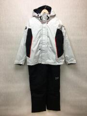 ナイロンジャケット/XL/ポリエステル/ホワイト/DW-3404