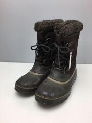 スノーブーツ/パックナイロン/ブーツ/26cm/ブラウン/NM1440-231