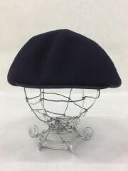 ベレー帽/L/ウール/NVY
