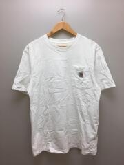 Tシャツ/M/コットン/WHT/無地