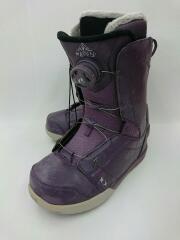 HEAVEN/紫/レディス スノーボードブーツ/23.5cm/BOA/パープル/HEAVEN/紫/レディス
