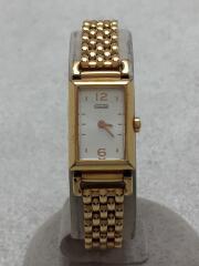 クォーツ腕時計/アナログ/GLD/CA66.7.34.0656