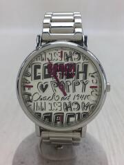 クォーツ腕時計/POPPY/アナログ/シルバー/シルバー