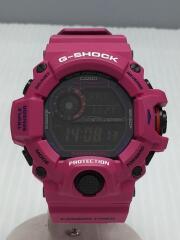 ソーラー腕時計・G-SHOCK/デジタル/PNK