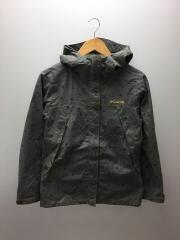 ワバシュウィメンズパターンドジャケット/マウンテンパーカー/M/ナイロン/グレー/PL2519