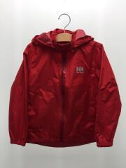 ジャケット/130cm/ナイロン/RED