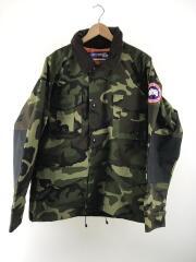 Tactical Jacket/18AW/ジャケット/L/ポリエステル/GRN/カモフラ