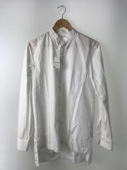 20SS White Faux Collar Buttoned Shirt/長袖シャツ/38/コットン/ホワイト