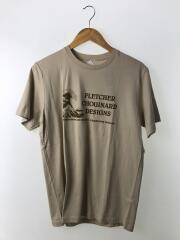 HOKUSAI T/Tシャツ/S/コットン/CRM/無地