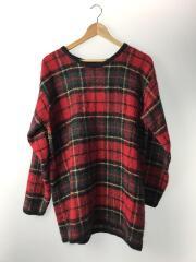 セーター(薄手)/M/モヘア/マルチカラー/チェック