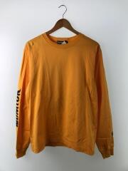 NUMLOK/ロングTシャツ/M/コットン/ORN