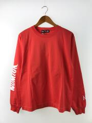 NUMLOK VIRGIL TEE/長袖Tシャツ/M/コットン/ORN