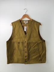 OIL TIN CLOTH VEST/ベスト/48/コットン/キャメル