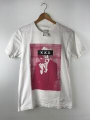 Tシャツ/S/コットン/ホワイト/プリント