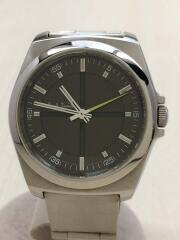 クォーツ腕時計/アナログ/ステンレス/GRY/SLV/1036-S058988HST