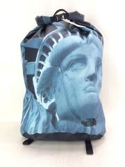 Statue of Liberty Waterproof Backpack/リュック/ナイロン/BLK/バックパック
