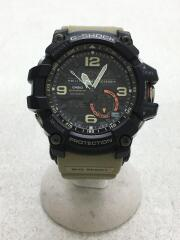 クォーツ腕時計・G-SHOCK/デジアナ/ラバー/BLK/KHK/GG-1000-1A3JF