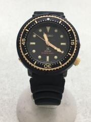 クォーツ腕時計/デジタル/ラバー/BLK/BLK/STBR039