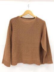 セーター(厚手)/0/コットン/BRW/無地/09WNT201133
