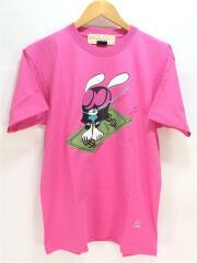 Tシャツ/XL/コットン/PNK