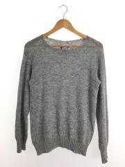 セーター(薄手)/スコットランド製/ウール/GRY