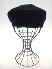 KNIT BERET/ベレー帽/--/ウール/NVY/型番D-00264