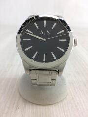 クォーツ腕時計/アナログ/ステンレス/シルバー/AX2320/3針