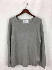 セーター(薄手)/M/リネン/GRY