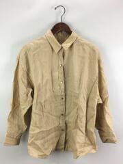 ビッグリネンシャツ/20ss/長袖シャツ/FREE/リネン/BEG/20-050-200-2010-1-0