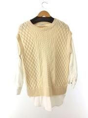 セーター(厚手)/FREE/ナイロン/IVO/600-9210023
