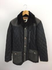 70808/キルティングジャケット/L/ナイロン/BLK/袖汚れ