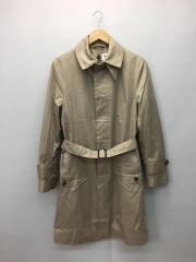 ステンカラーコート/36/コットン/BEG/ライナー付