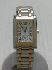 Dolcevita/L5.502.5.70.7/クォーツ腕時計/アナログ/WHT/SLV