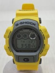 クォーツ腕時計・G-SHOCK/デジタル/YLW