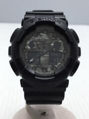 G-SHOCK/GA-100CF-1AJF/クォーツ腕時計/アナログ/ラバー/カシオ/ジーショック