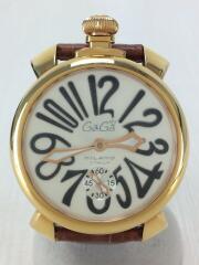 ガガミラノ/自動巻腕時計/アナログ/5011