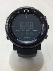 CORE/コア/クォーツ腕時計/デジタル/ラバー/BLK/BLK/