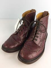 Tricker's Collection by REAL SCOPE /ブーツ/UK6.5/BRD/レザー